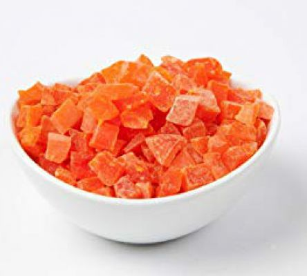 Canned Red Papaya Dices
